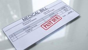past due medical bill